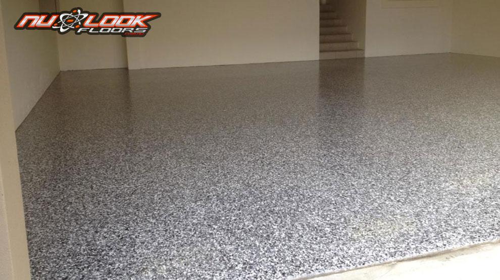epoxy flooring in a garage